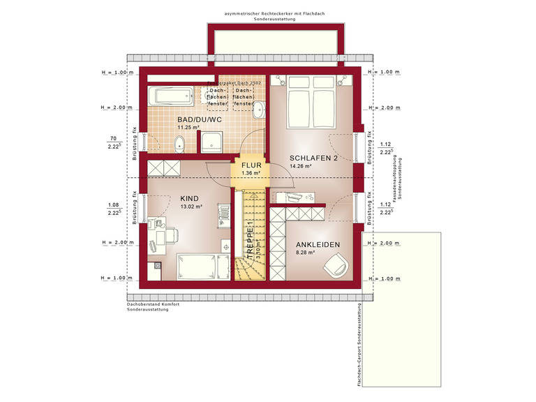 Haus Solution V4 DG von Living Haus