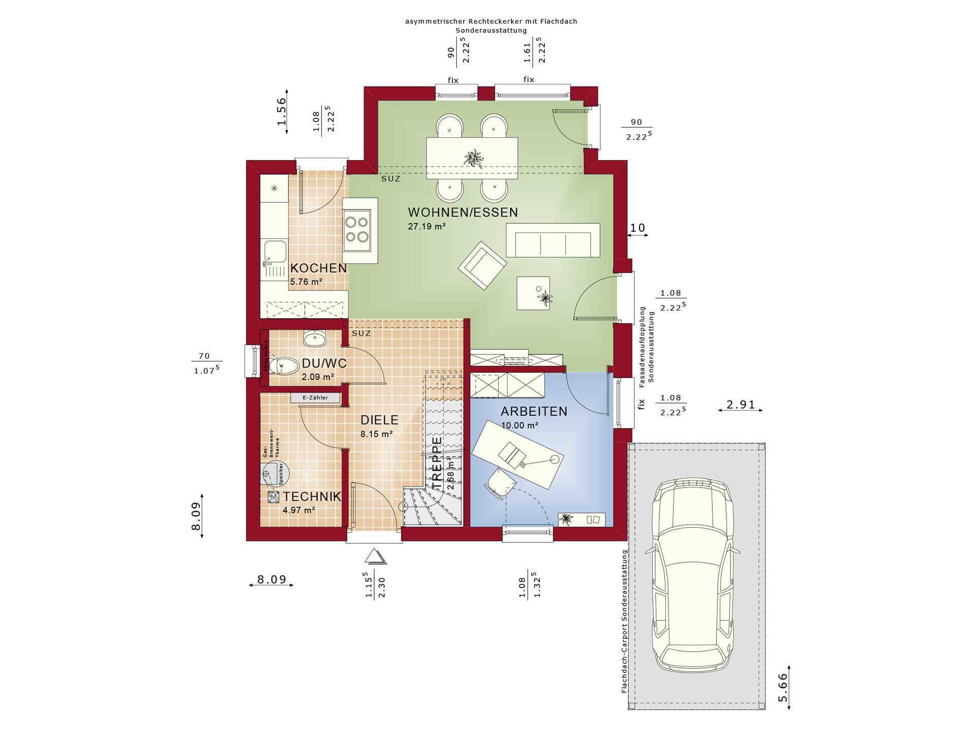 Haus Solution V4 EG von Living Haus