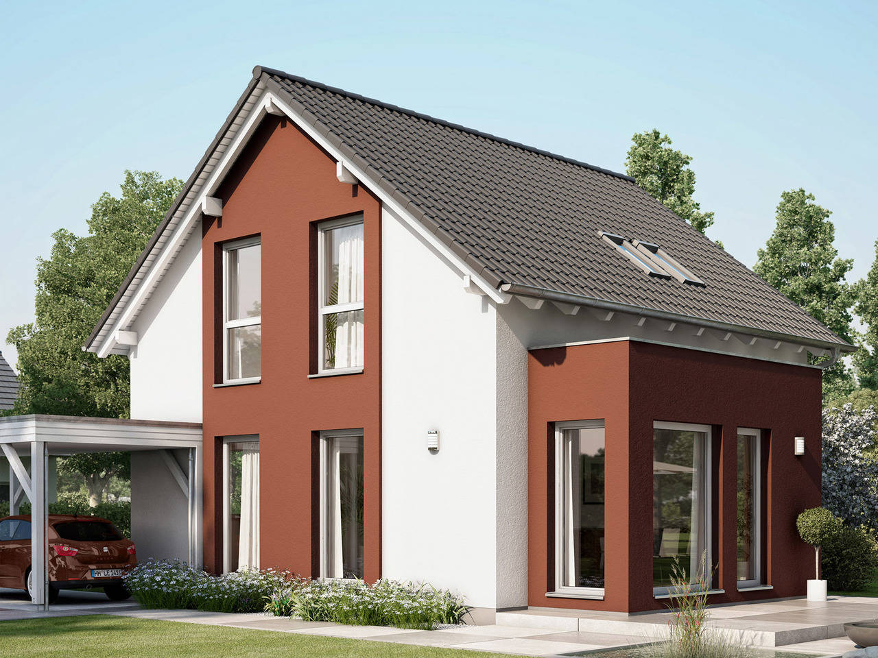 Haus Solution V4 Klinker von Living Haus