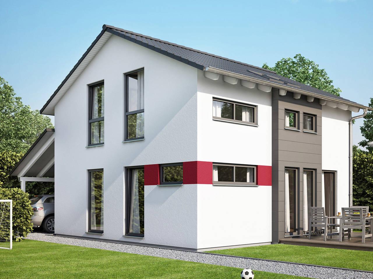 Haus Solution 106 V6 b von Living Haus