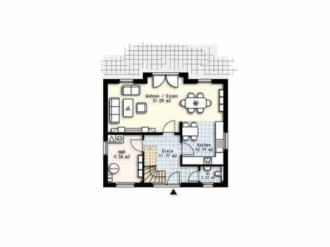 Haus Polaris 3 - OLFA-Haus GmbH Grundriss EG
