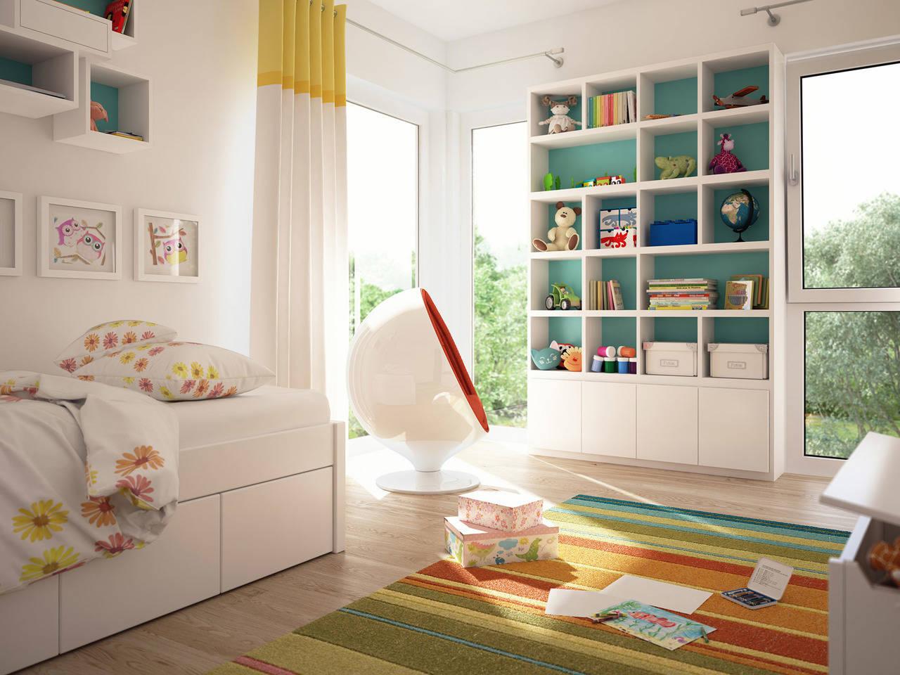 Haus SOLUTION 124 V9 Kinderzimmer von Living Haus