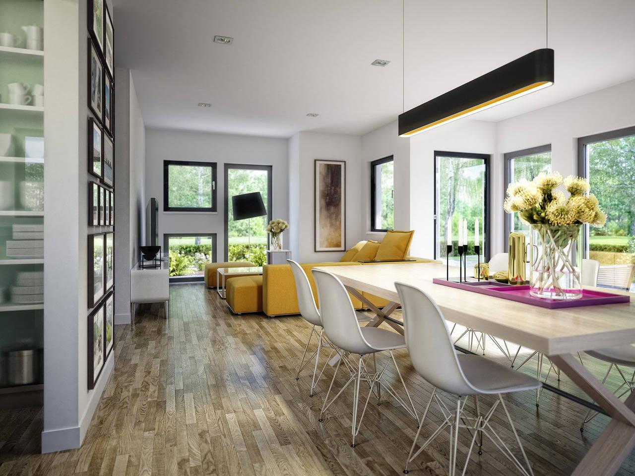Haus SOLUTION 125 V4 Esszimmer von Living Haus