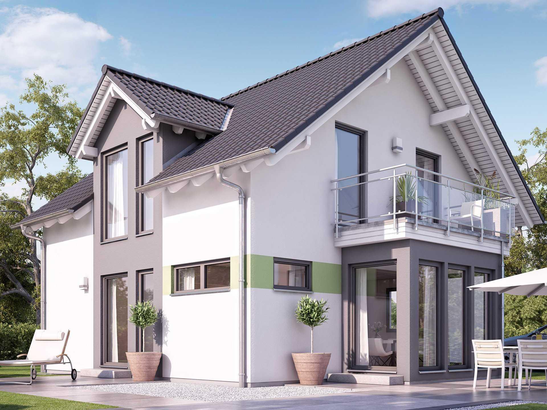 ^ Haus SOLUION 125 V4 - Living Haus - Bien-Zenker GmbH