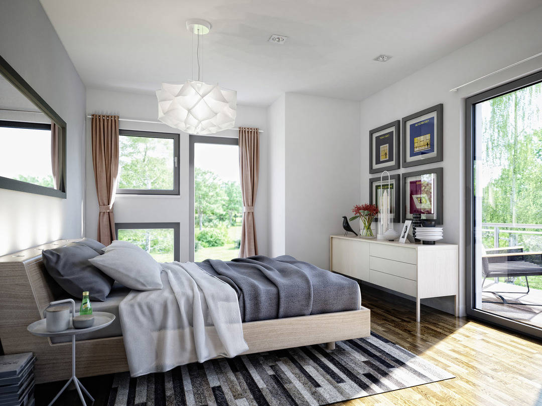 Haus SOLUTION 125 V9 Schlafzimmer von Living Haus