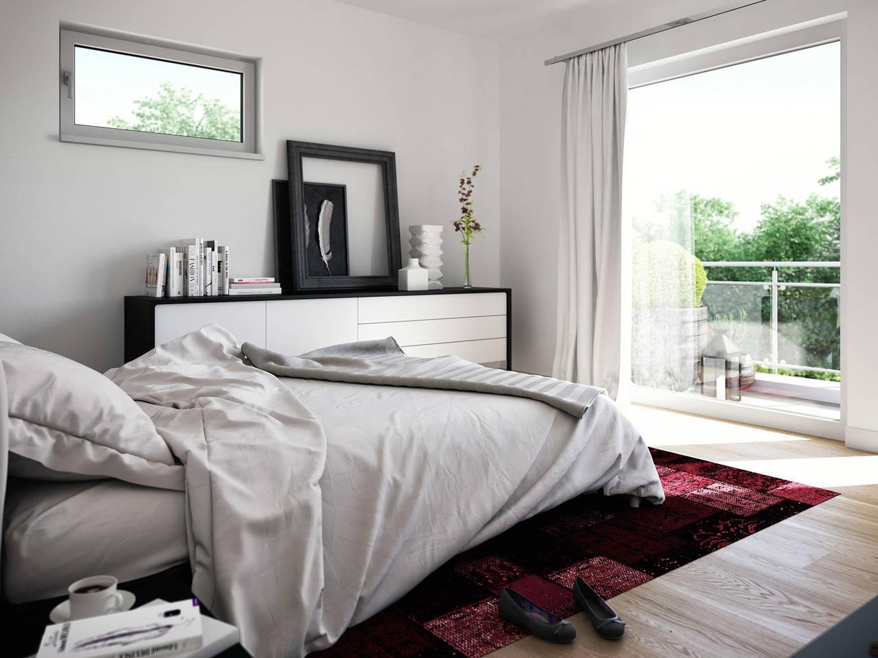 Haus SOLUTION 134 V2 Schlafzimmer von Living Haus