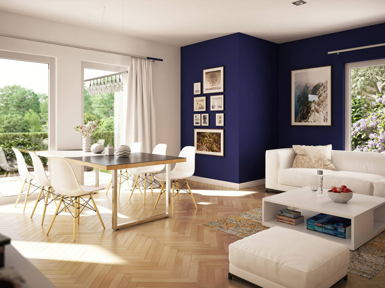 Haus SOLUTION 134 V4 Wohnzimmer von Living Haus