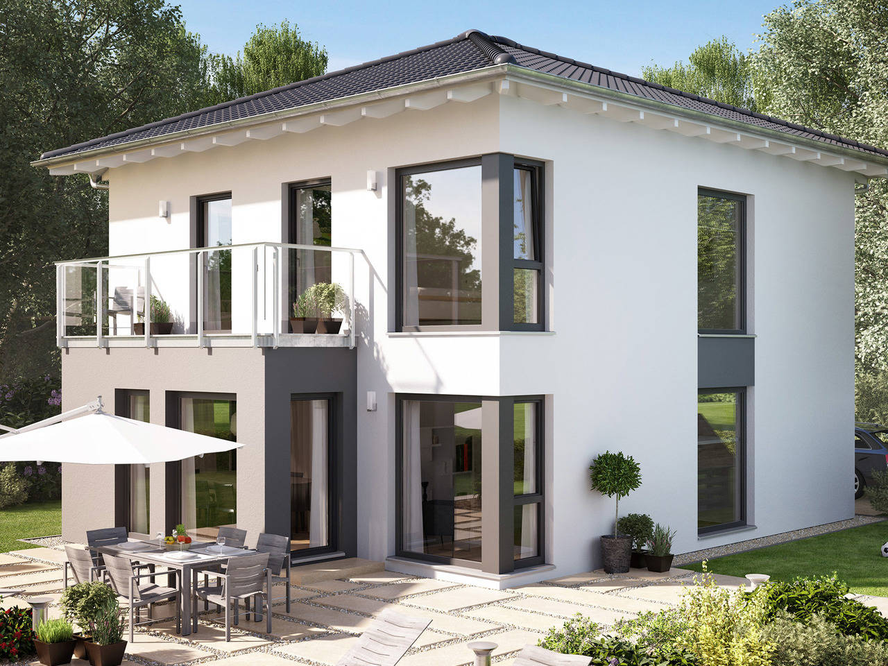 Haus SOLUTION 134 V9 von Living Haus