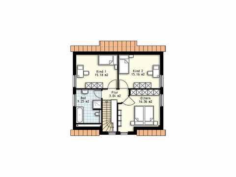 Haus Polaris 5 - OLFA-Haus GmbH Grundriss DG