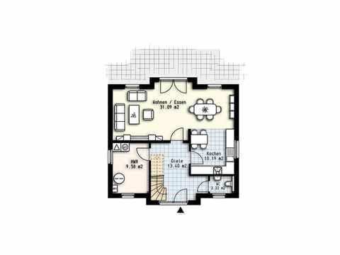 Haus Polaris 5 - OLFA-Haus GmbH Grundriss EG