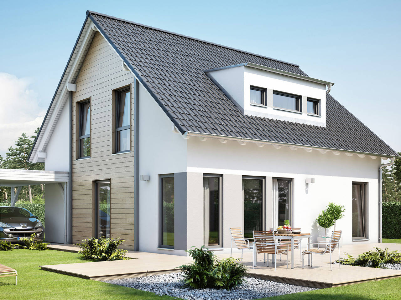 Haus SOLUTION 151 V3 von Living Haus