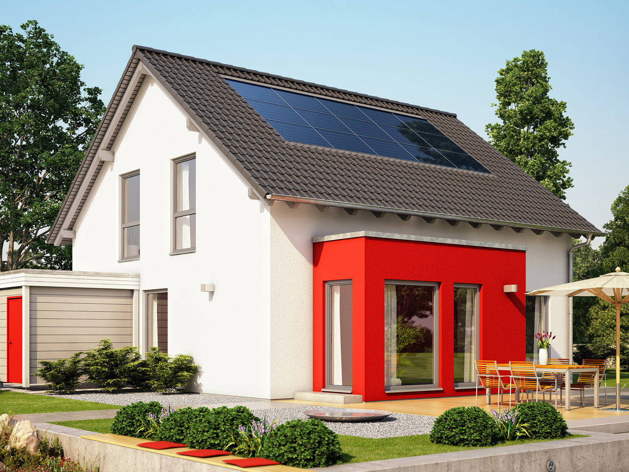Haus SOLUTION 151 V4 von Living Haus