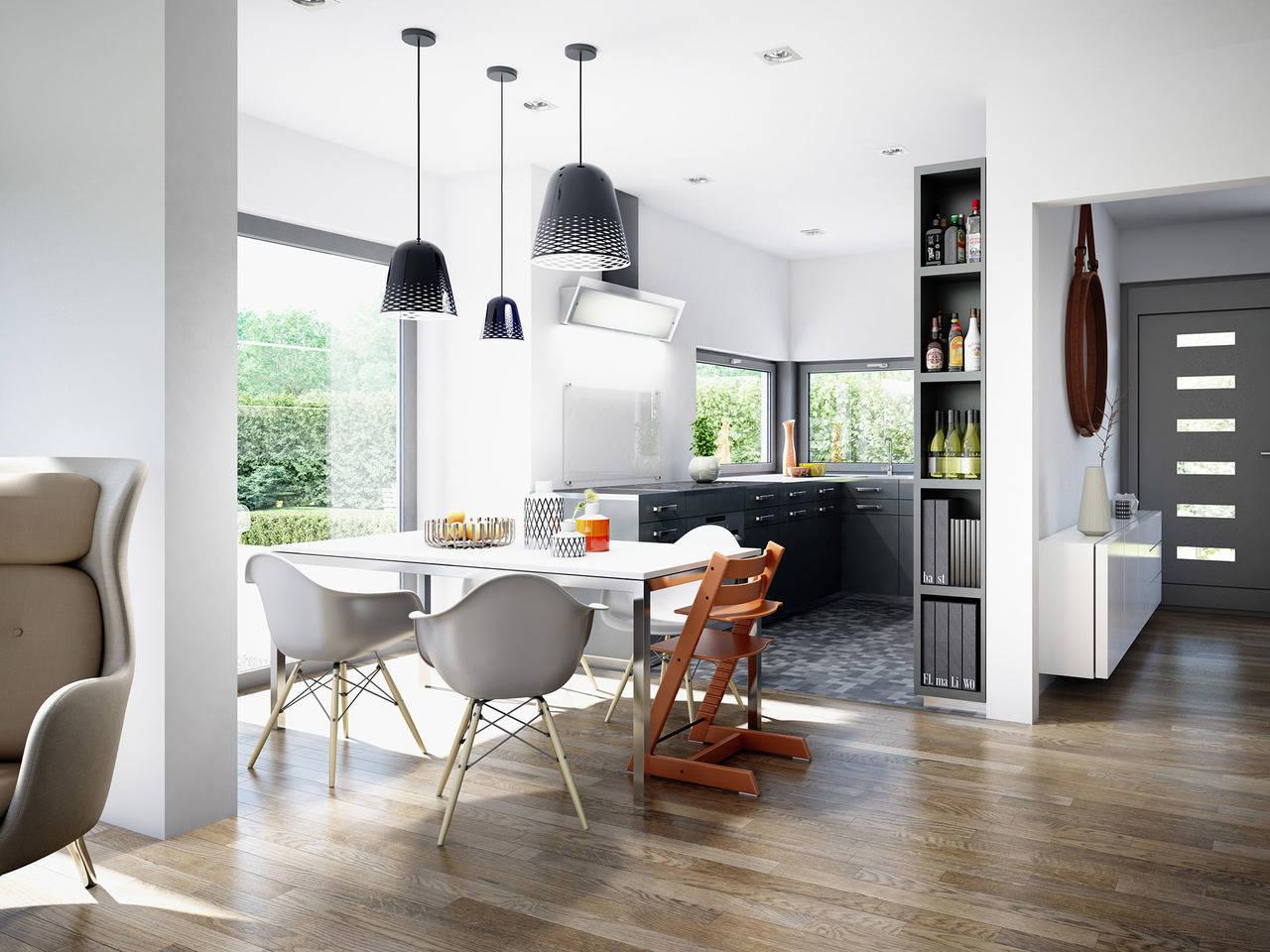 Haus SOLUTION 151 V6 Küche von Living Haus