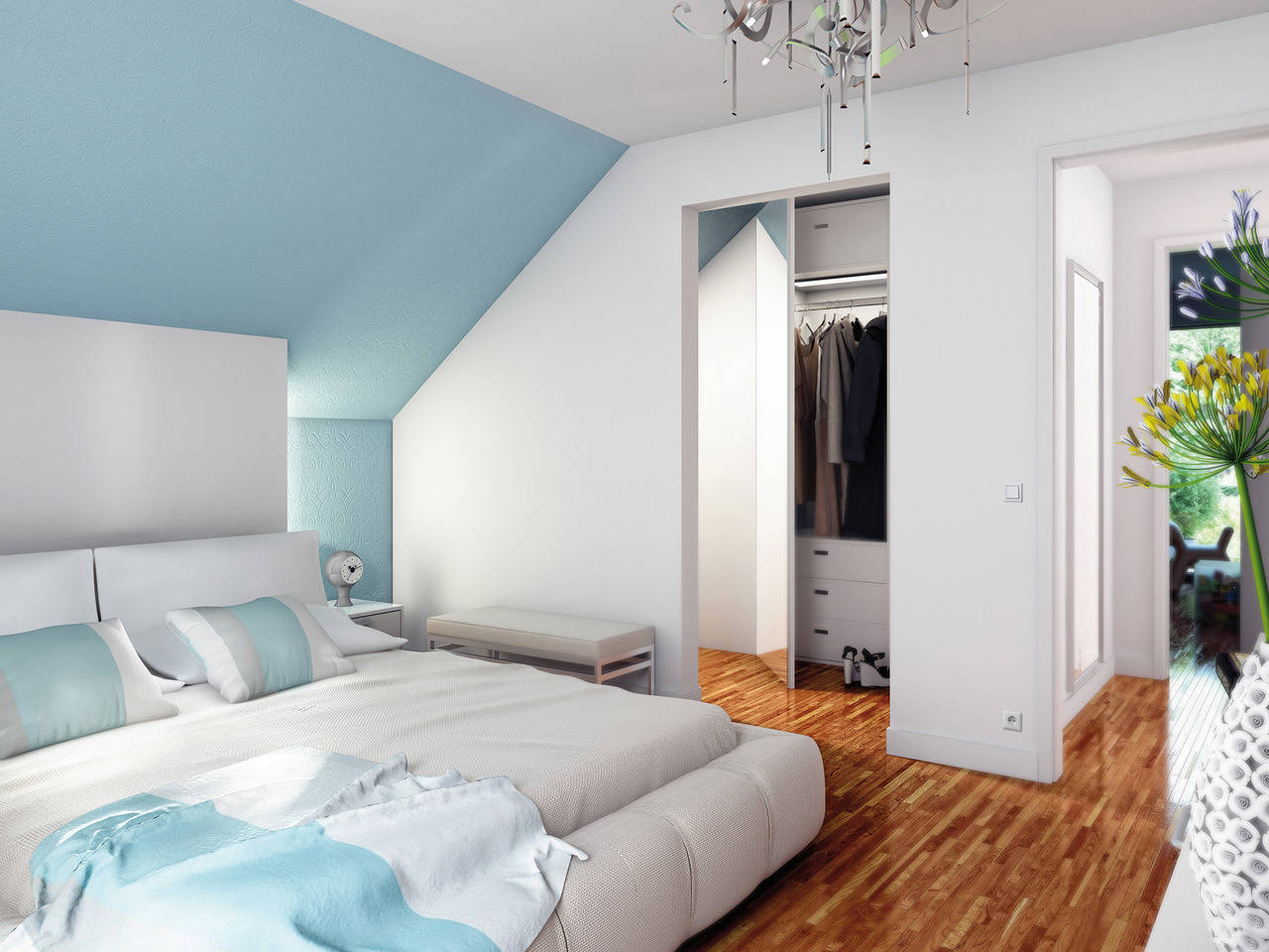 Haus SOLUTION 151 V6 Schlafzimmer von Living Haus