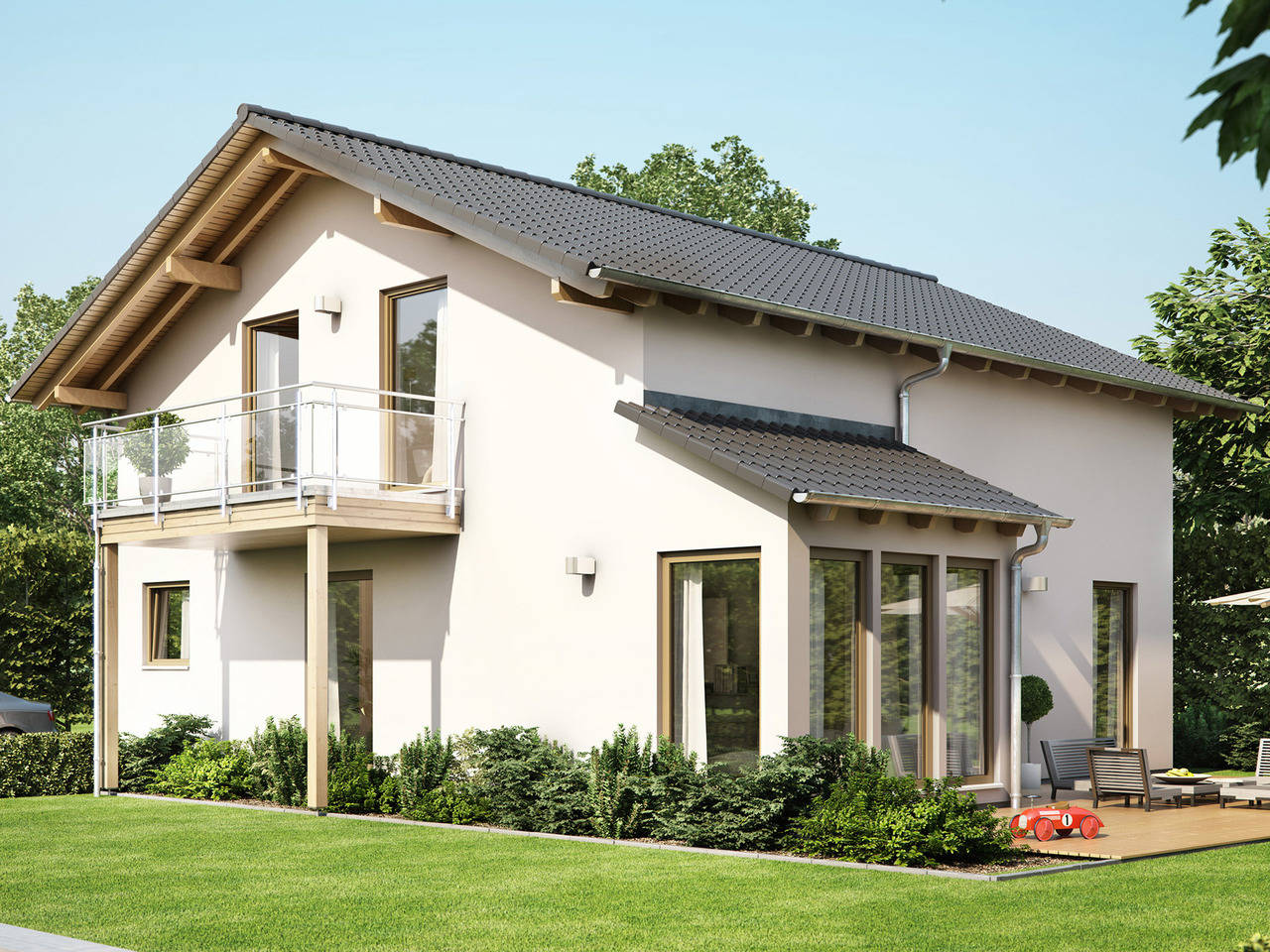 Haus SOLUTION 151 V6 von Living Haus