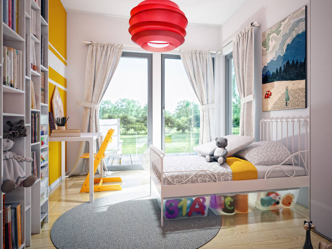Haus SOLUTION 78 V5 Kinderzimmer von Living Haus