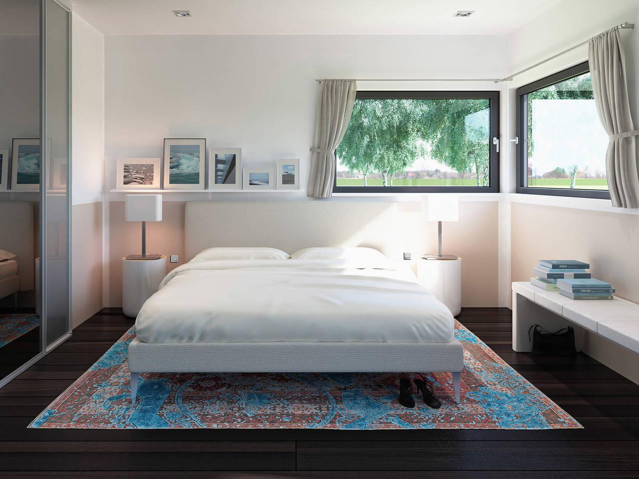 Haus SOLUTION 87 V2 Schlafzimmer von Living Haus