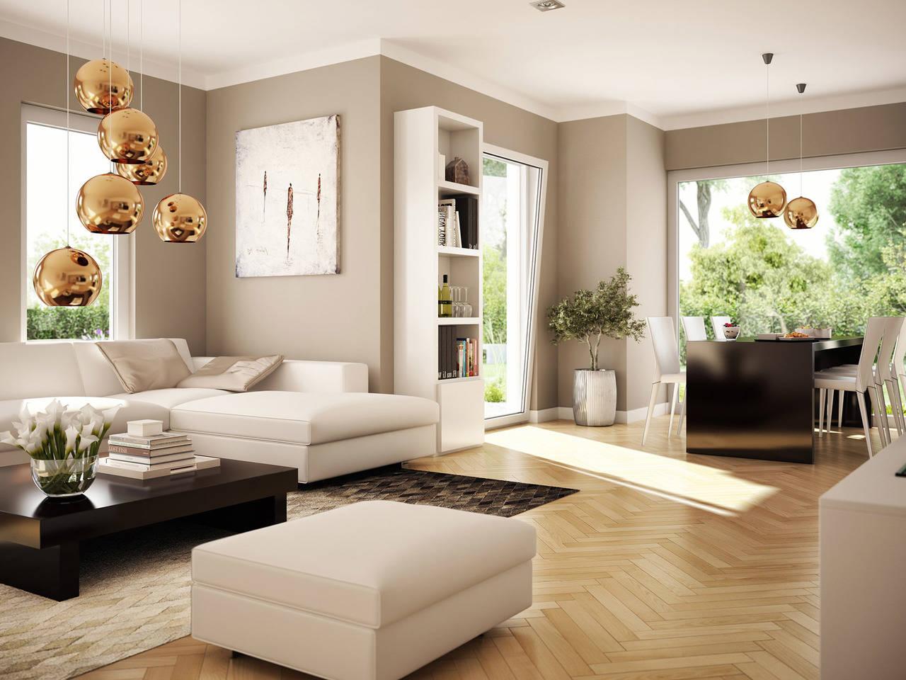 Haus SOLUTION 87 V2 Wohnbereich von Living Haus