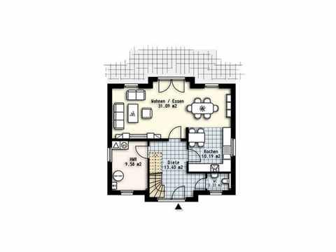 Haus Polaris 7 - OLFA-Haus GmbH Grundriss EG