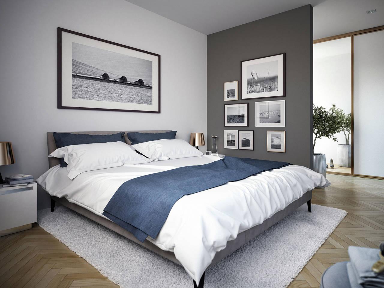 Haus SOLUTION 204 V2 Schlafzimmer von Living Haus