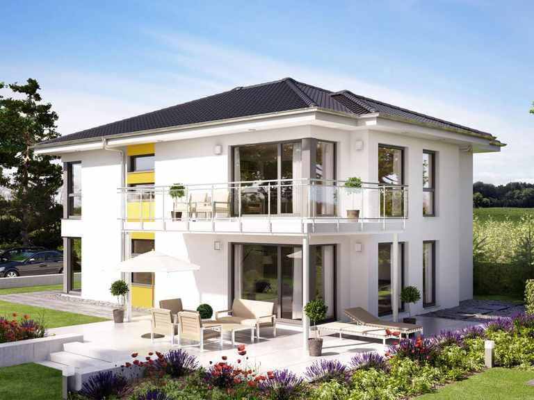 Zweifamilienhaus SOLUTION 204 V6 L - Living Haus