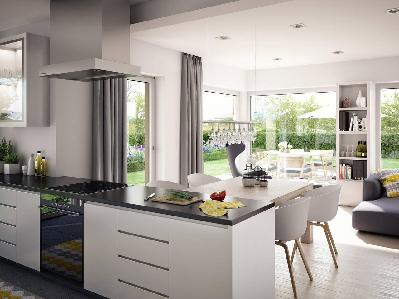Haus SOLUTION 204 V8 Küche von Living Haus