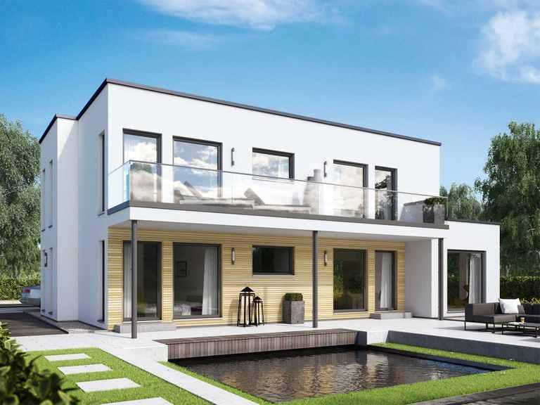 Zweifamilienhaus SOLUTION 204 V8 L - Living Haus