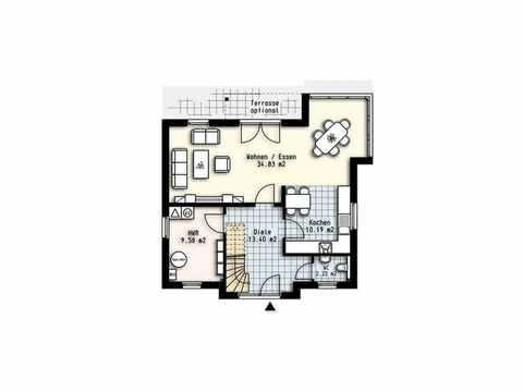 Haus Polaris 8 - OLFA-Haus GmbH Grundriss EG
