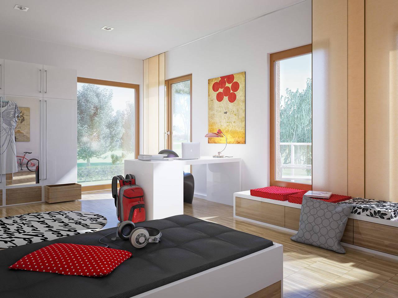 Haus SOLUTION 126 L V5 Kinderzimmer von Living Haus