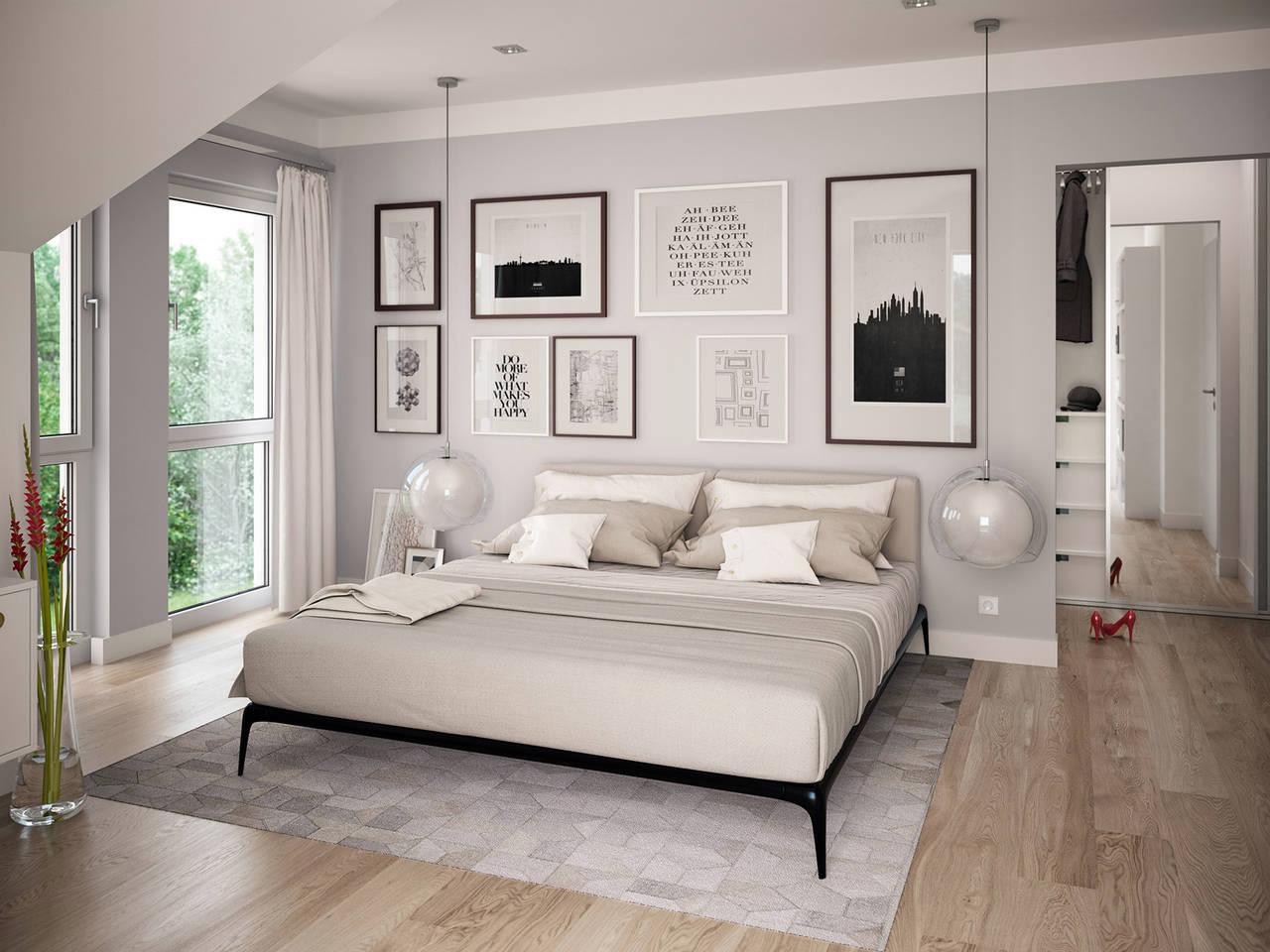 Haus SOLUTION 126 L V5 Schlafzimmer von Living Haus