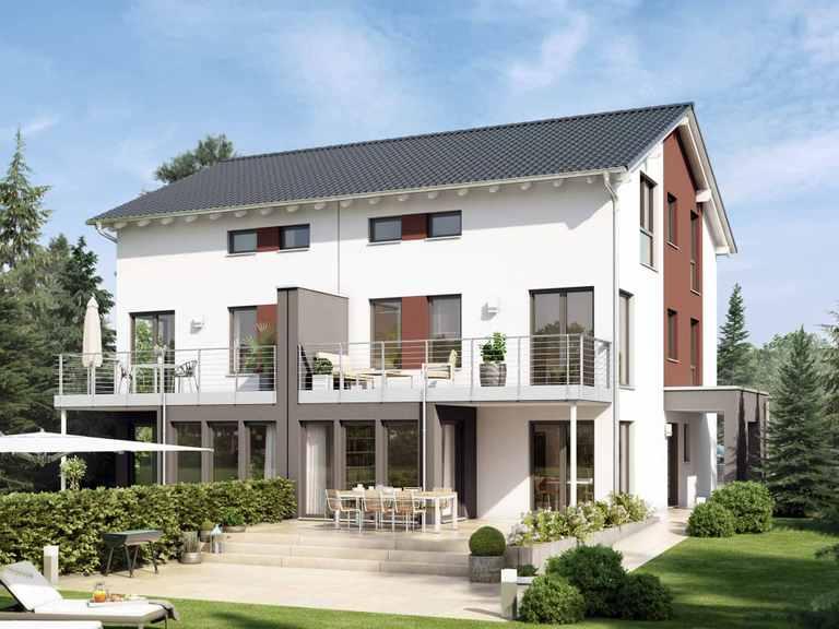 Doppelhaus SOLUTION 126 XL V3 - Living Haus