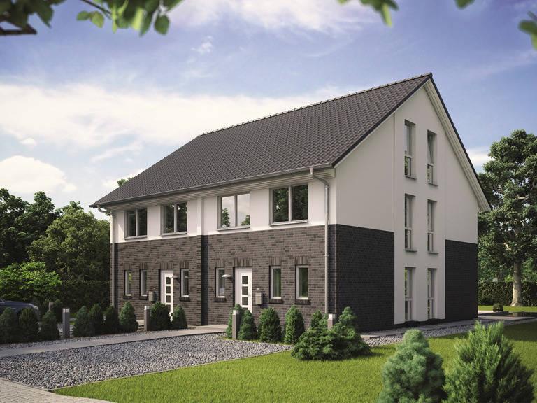 Doppelhaus Maxime 1000 D von Viebrockhaus