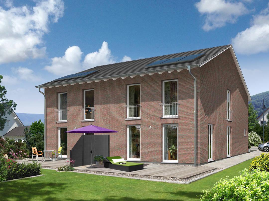 Doppelhaus Aura 125 Klinker