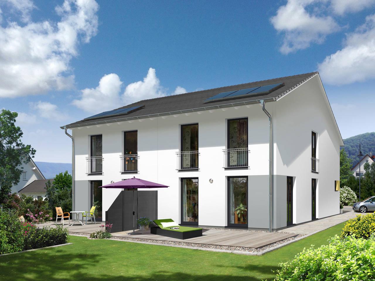 Doppelhaus Aura 125 Style