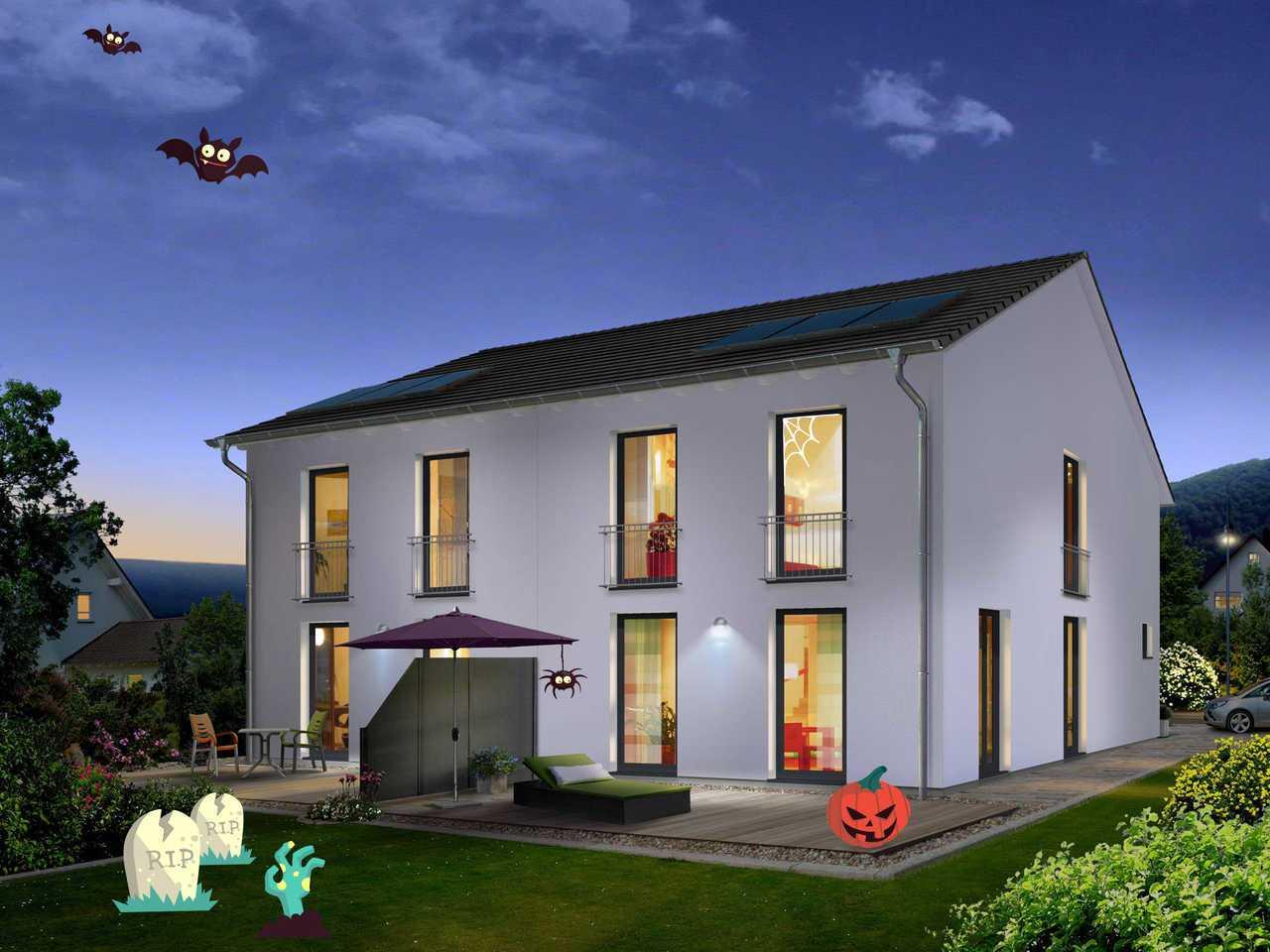 Doppelhaus Aura 125 Halloween