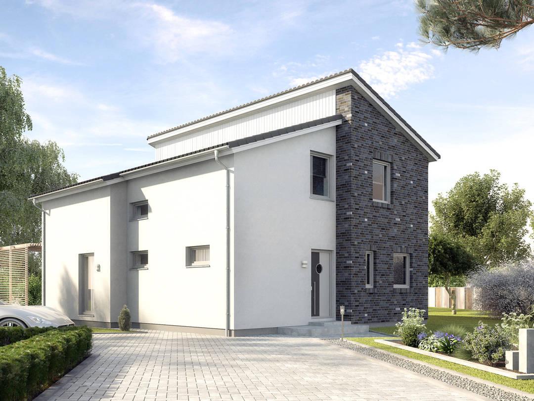 Designerhaus ProStyle 143 mit Pultdach von ProHaus