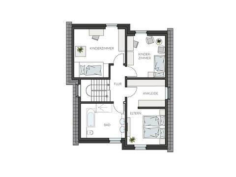 Haus ProStyle 143 Grundriss DG