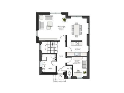 Haus ProStyle 143 Grundriss EG