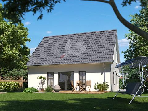 Einfamilienhaus Birke 136 von Baufuchs Massivhaus