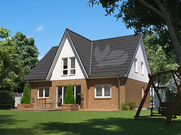 Einfamilienhaus Birke 170 von Baufuchs Massivhaus
