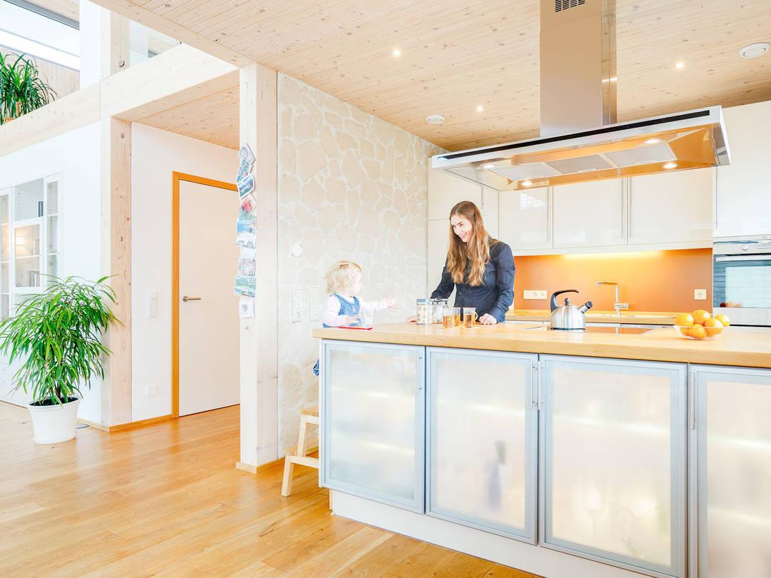 Wohnbereich Haus Hellwig von Becker360