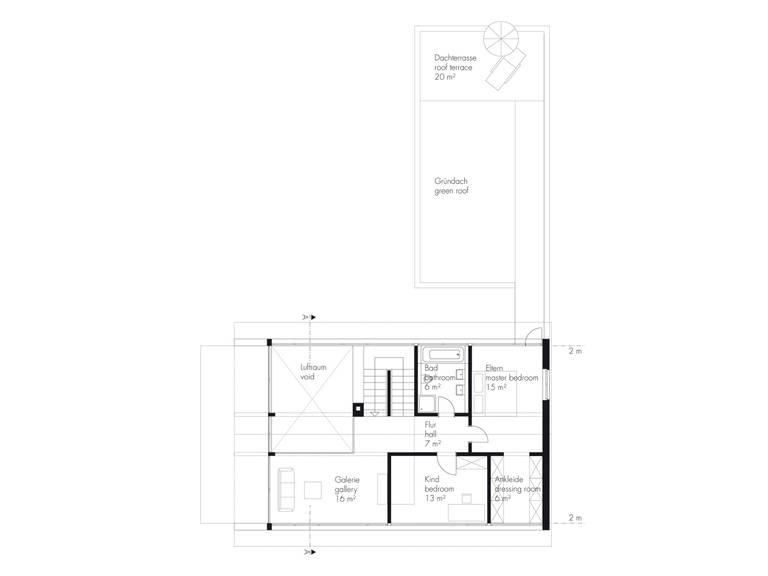 Grundriss OG Haus Hellwig von Becker360