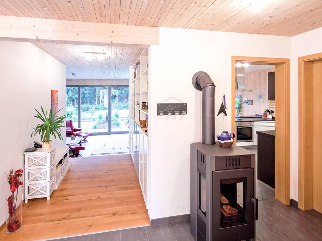 Innenansicht Flur Haus Figgen von Becker360