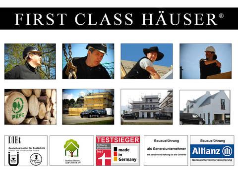 Haus 2 von First Class Haus - Zertifikate