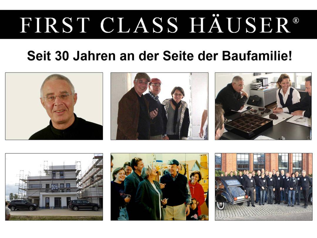 First Class Haus 3 - seit 30 Jahren an der Seite der Baufamilie