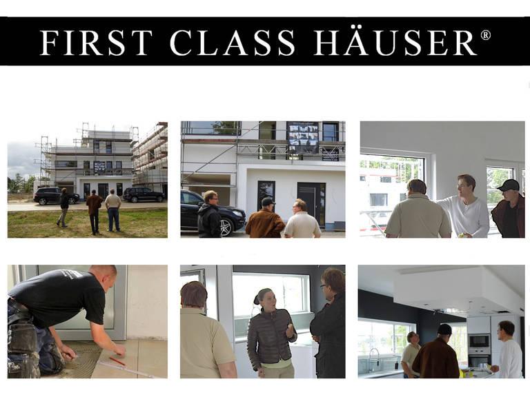 First Class Haus 3 - Baustellenbesichtigung