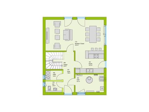 Massa Haus LifeStyle 1 Grundriss EG