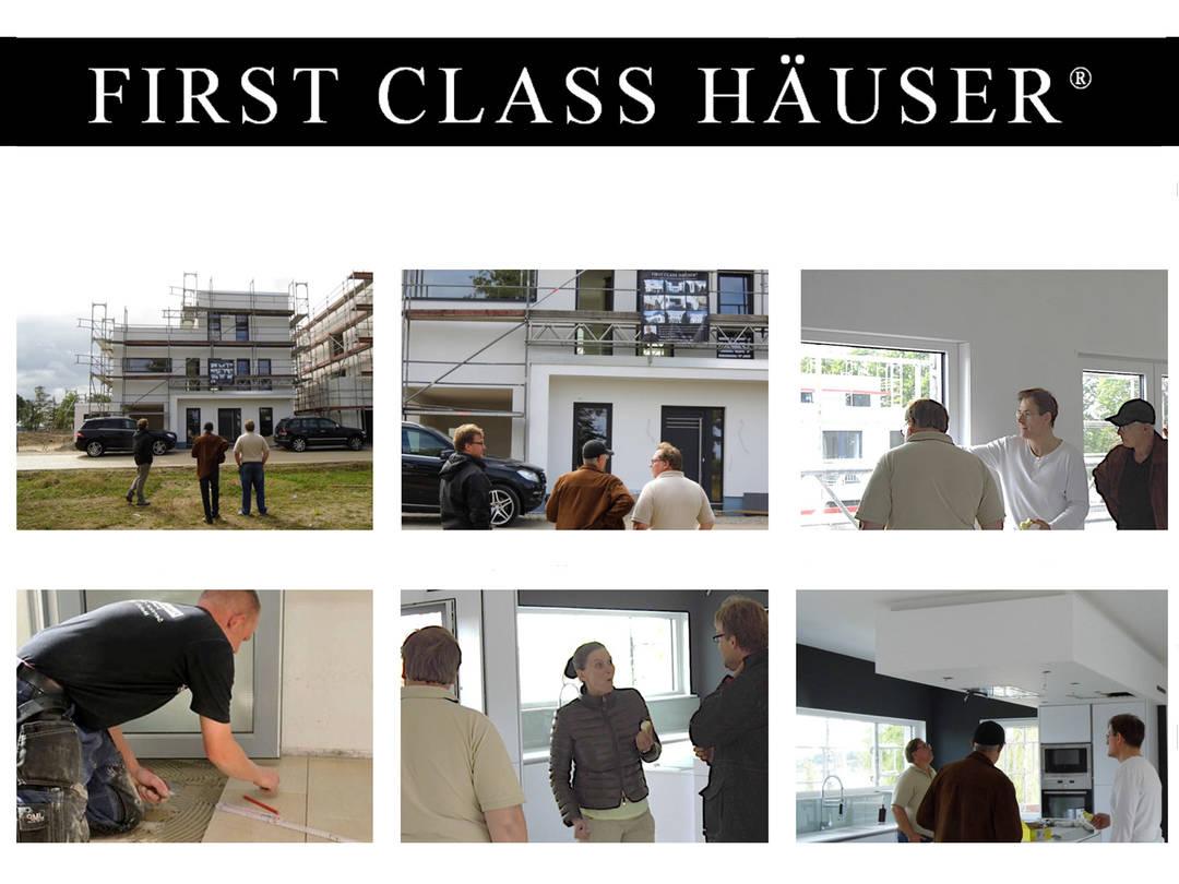 First Class Haus 4 - Baustellenbesichtigung