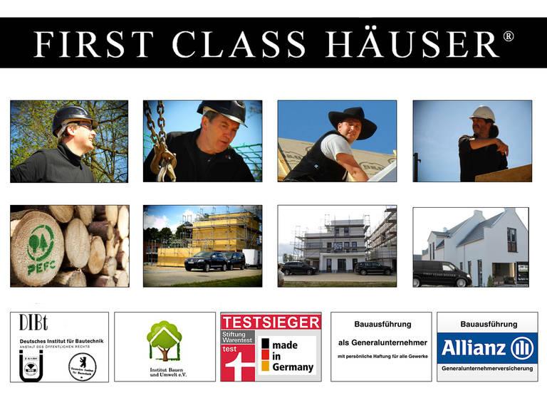 First Class Haus 4 - Zertifikate