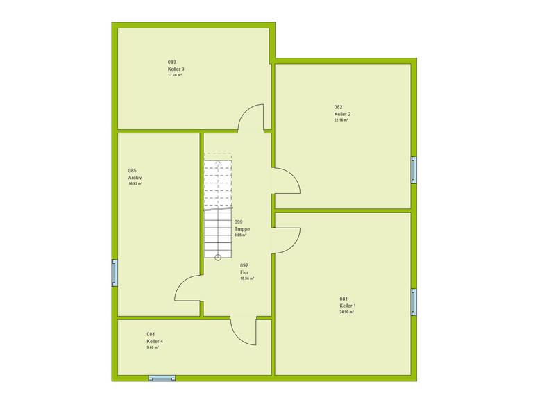 Haus Unique 3 Grundriss KG von massa haus